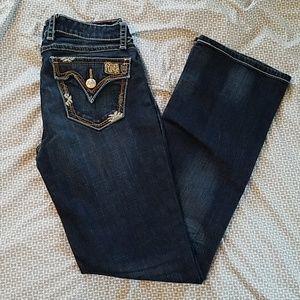 Wrangler Rock 47 dark bootcut jeans NWOT
